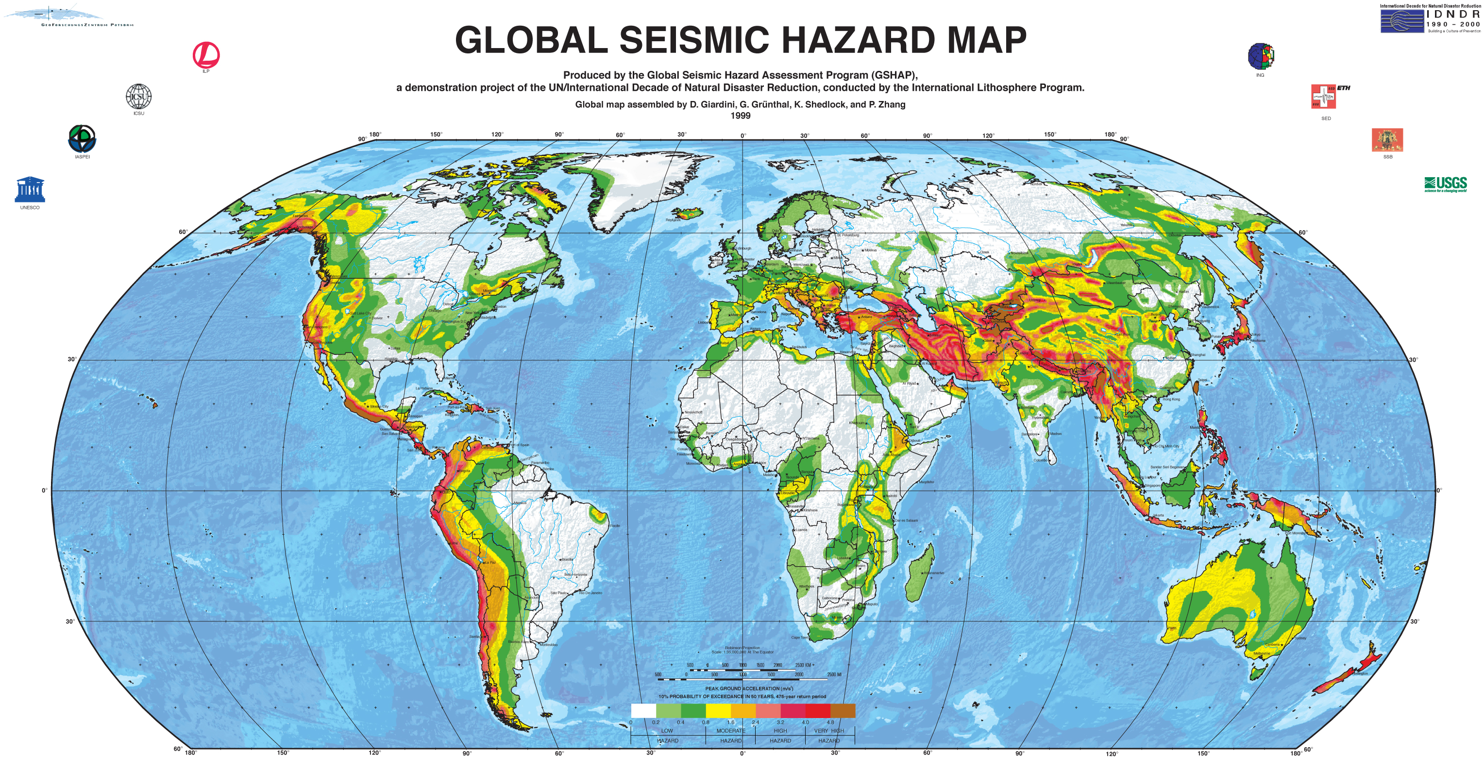 World Earthquake Map
